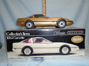 Jim Beam/I.A.J.B.B.S.C. 1984 Gold Corvette Decanter