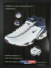 Nike Max Air Tailwind 5 - Trainers -  Magazine Advert #B3959
