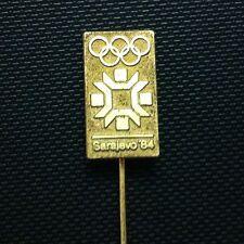 PIN- BADGE- YUGOSLAVIA- OLYMPIC SARAEVO 1984 !!!