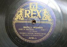 78rpm FODEN`S MOTOR WORKS BAND martial moments 1&2
