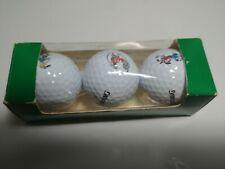 Disney Trio Spalding Cut Proof Distance Golf Balls Bnib