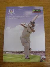 17/07/2013 Cricket Scorecard: Gloucestershire v Worcestershire [At Gloucester] F