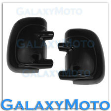 Ford 99-07 Super Duty F250+F350+450 No turn Signal HOLE Gloss Black Mirror Cover