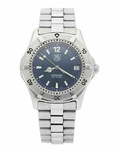 Tag Heuer 2000 Classic Automatic Blue Dial 37mm Men's Watch WK2117