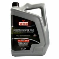 NEW VEEDOL ENGINE OIL POWERTRON ULTRA 5W-40 - FULLY SYNTHETIC - 5 LITRE 5013D