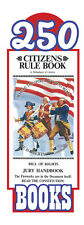 Original Citizens Rule Book Bill of Rights Jury Handbook Pocket Sized (250 pack)