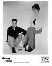 "Donny / Marie Osmond 10"" x 8"" Photograph"