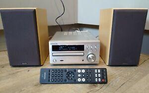 Denon RCD M40DAB CD Player, FM/DAB Tuner, USB, Bluetooth adapter & Speakers