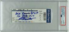 """Gavin Lux Signed Baseball Ticket """"MLB Debut 9/2/19/1st MLB Hit"""" PSA/Fanatics"""