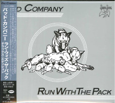 BAD COMPANY-RUN WITH THE PACK-JAPAN 2 CD G61