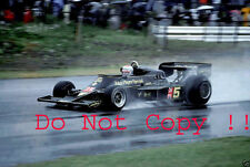Mario Andretti JPS Lotus 77 Winner Japanese Grand Prix 1976 Photograph 3
