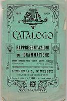 1928 1929 Catalogo di rappresentazioni drammatiche Libreria S. Giuseppe 2795
