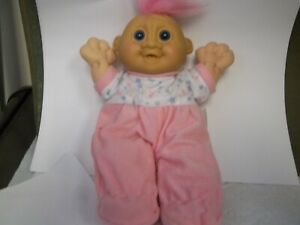 Russ Berrie & Co. Pink Baby  Doll  #2329