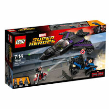 Lego Marvel Super Heroes Captain America and 4x4 76047