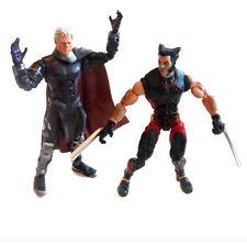 """Leyendas De Marvel Comics X Men Magneto Vs Wolverine 6"""" Figura de juguete juego de lote, Logan"""