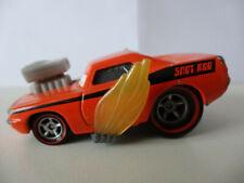 Snot Rod with Flames - Disney - Pixar - Cars - 1/55
