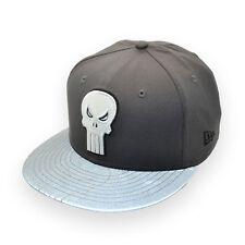 NEW ERA MARVEL THE PUNISHER REFLECTIVE 9FIFTY STRAPBACK CAP