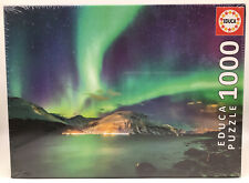 """Aurora Borealis"" 1000-Piece Jigsaw Puzzle By Educa Sealed Brand New!"