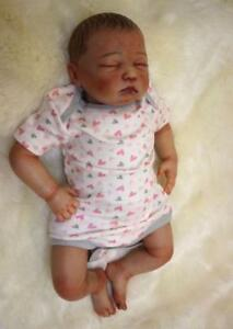 Newest Lifelike 20'' Reborn Baby Sleeping Doll Realistic Girl Boy Dolls Handmade