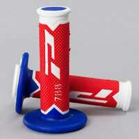 ProGrip 788 Triple Density MX Grips - Ltd White Red Blue
