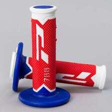 ProGrip 788 Triple Density MX Grips - Ltd White Red Blue
