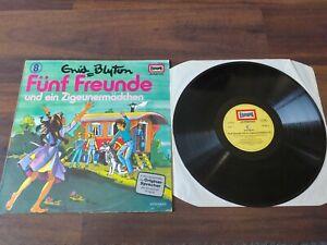 Fünf Freunde 8 Und das Zigeunermädche Vinyl LP Schallplatte Hörspiel Blyton