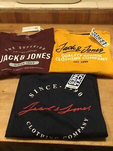 Jack & Jones BOYS Herro Long Sleeve T Shirt (3 Colours) Age 9-16
