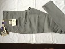 Grey Super SKINNY Jeans EX Dorothy Perkins With Embroidered Detail 8