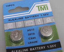PRL) BATTERIE BOTTONE ALKALINE BATTERY BOUTON PILE 1.55 V AG13 357A CX44 LR44W