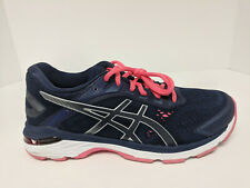 Asics GT-2000 7 Running Shoes, Peacoat/Silver, Womens 8 M