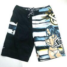 LOST Enterprises MAYHEM Pin-Up Girl Board Surf Swim Shorts Size 31