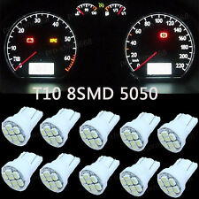 6K White LED 194 Wedge Speedo Dash Gauge Instrument Panel Light Bulb For Chevy