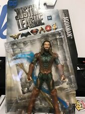 "2017 DC COMICS JUSTICE LEAGUE MOVIE AQUAMAN 6"" FIGURE IN HAND NEW MULTIVERSE"