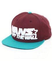 VANS Acrylic Snapback Hats for Men