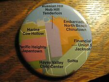 San Francisco California USA Neighborhood Advertisement Pocket Lipstick Mirror