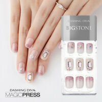 [DASHING DIVA] Magic Press Gel Nail Art Manicure 30 pcs SOPHIA (BIGSTONE)