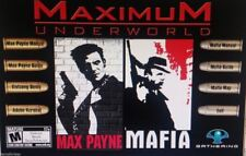Mafia & Max Payne Strategy Guides Manuals on new Disc no game
