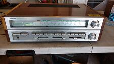 Vintage Toshiba SA-620 AM FM Stereo Receiver - Silver Face