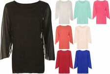 Polyester Long Sleeve Tunic Solid Tops for Women