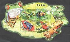 BC660 SALE GUINEA-BISSAU FAUNA REPTILES & AMPHIBIANS FROGS AS RAS KB MNH