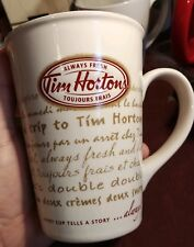 Tim Hortons Mug French and english