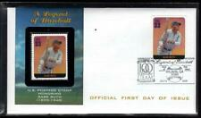 1¢ WONDER ~ BABE RUTH LEGENDS OF BASEBALL FDC #3408H ~ N18