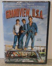 Grandview U.S.A. (DVD 2011) RARE 1984 PATRICK SWAYZE JAMIE LEE CURTIS DRAMA NEW