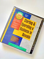 STARTING & Operating a BUSINESS in NEVADA by Michael D. Jenkins