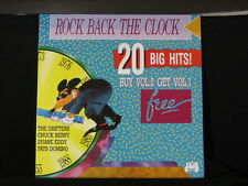 Rock Back The Clock. Vol. 2. 33 lp Record Album. Little Richard Crystals Dion