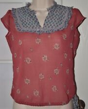 Free People Sheer Top Size Small