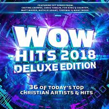 Wow Hits 2018 [2CD] Deluxe Edition 39 tracks Christian New & Sealed Chris Tomlin