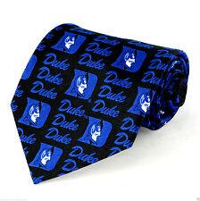 Duke University Blue Devils Mens Necktie NCAA College Team Logo Neck Tie New