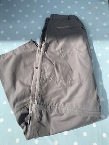 CRAGHOPPERS WOMENS ZIP OFF OUTDOOR TROUSERS SHORTS SIZE UK 14