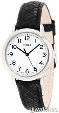 Timex Elevated Classic Women Black Python Leather Indiglo Watch T2N964 $47.95